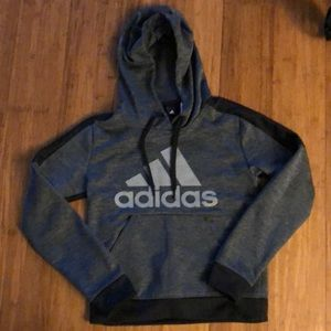 Adidas Boys Hoodie XS
